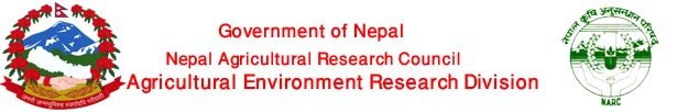Agricultural Environment Research Division (AERD).